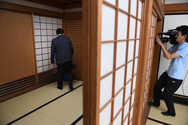 6月21日、大阪市福島区の関西将棋会館、伊藤進之介撮影