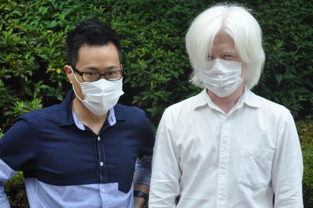 マスクを身につけるだけで、見た目の印象は大きく変わる