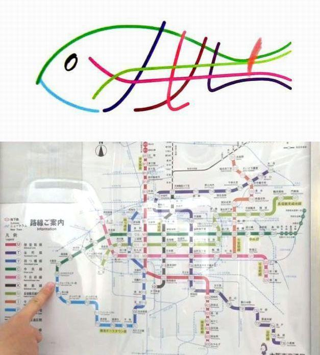 路線図と比較してみると……