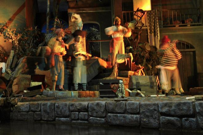 カリフォルニア・アナハイムにあるディズニーランドのアトラクション「カリブの海賊」=2007年7月、ロイター
