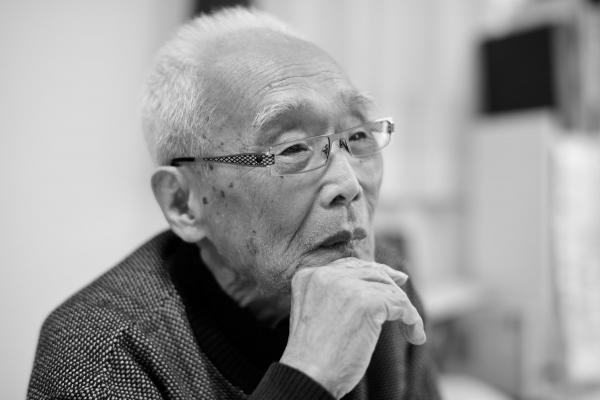 高﨑元尚さん=2017年4月、河上展儀氏撮影