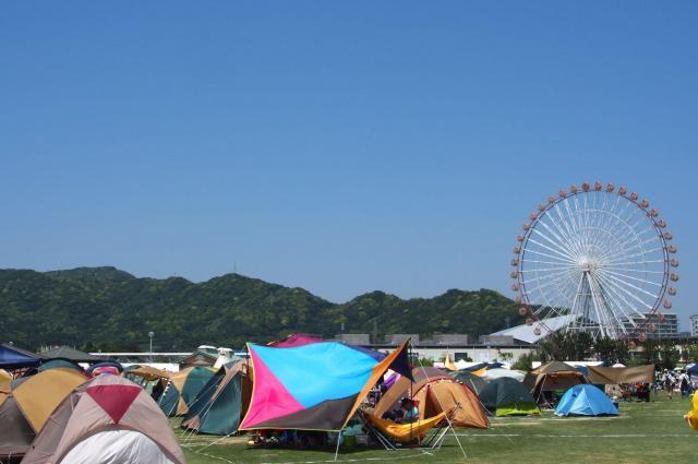 キャンプやフードなどフェスには様々な楽しみ方がある