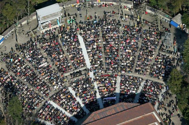 日本のフェスの原点ともいえる日比谷野外音楽堂