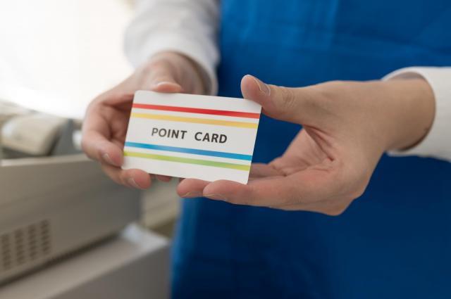 ポイントカード※写真はイメージです