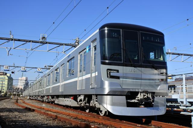 3月から運行している「13000系」=東京メトロ提供