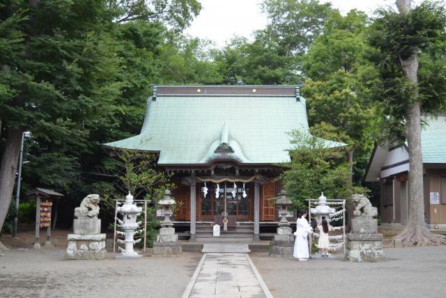 神奈川県海老名市にある有鹿神社