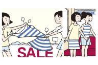 ポスター「目当ての服は譲らなくても 優先座席はすすんで譲る」(一部をトリミングしています)