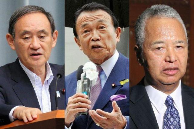 東京都議選の夜に首相と会っていたのは…菅義偉氏、麻生太郎氏、甘利明氏