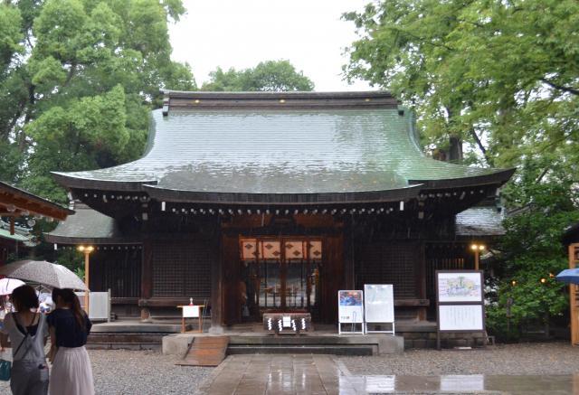 川越氷川神社=埼玉県川越市、野口みな子撮影