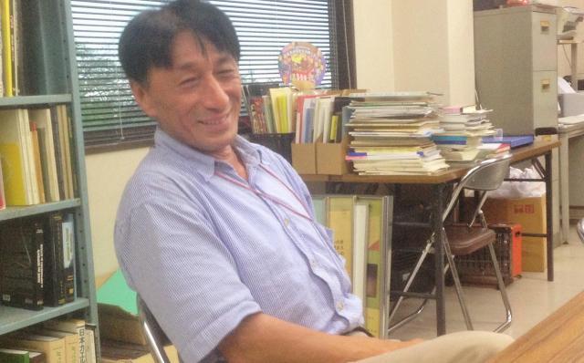 へび研の主任研究員、堺淳さん