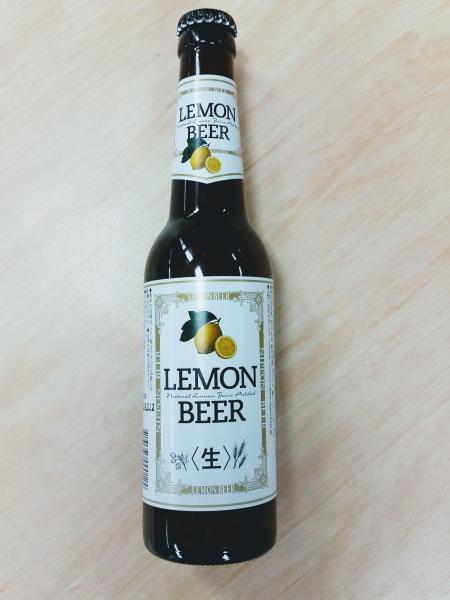 瓶入りレモンビール
