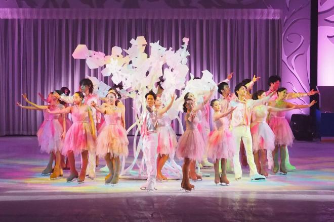 横浜で開かれたプリンスアイスワールド=2017年5月3日