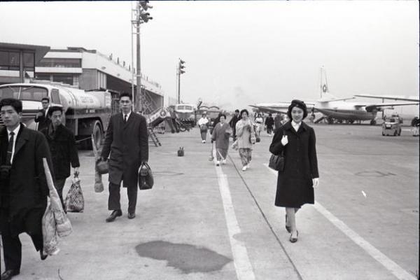 【1964年】全日本空輸の客室乗務員