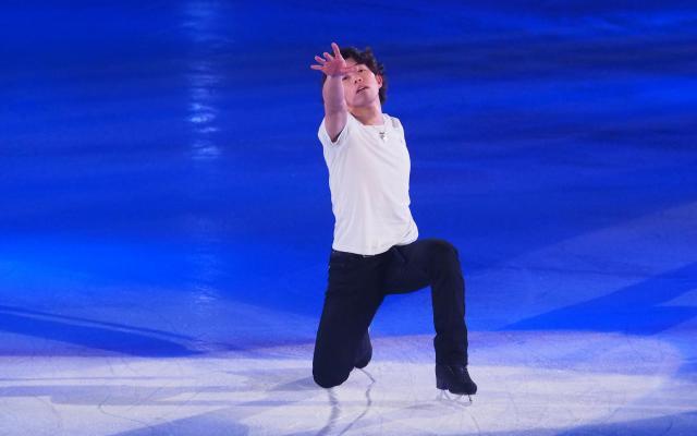 プリンスアイスワールドに出演した無良崇人選手=2017年5月3日、横浜市