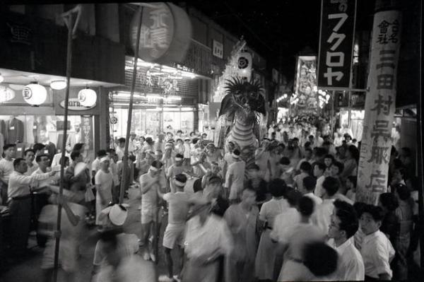 【1954年の精霊流し】