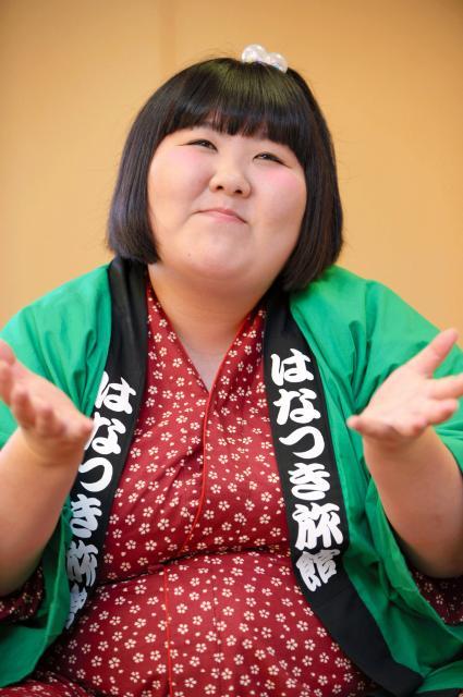 「下から攻めて、とーんとする座長になりたい」=滝沢美穂子撮影