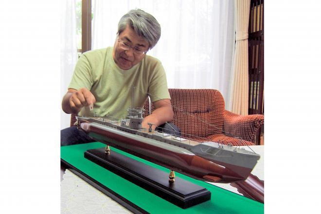 2006年、「まるゆ」についての本「陸軍潜水艦隊」を出版した中島篤巳さん