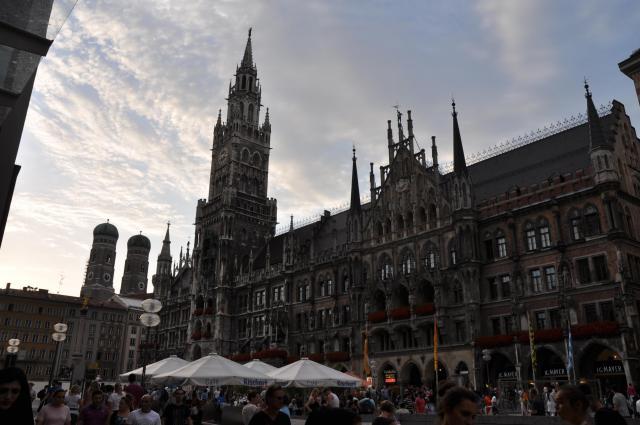 ミュンヘン中心部の観光地
