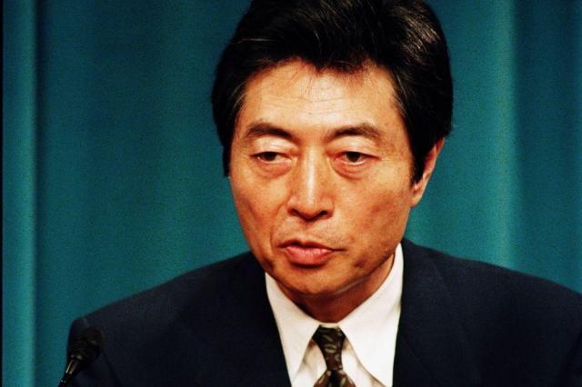 細川護煕首相(当時)=1994年3月2日