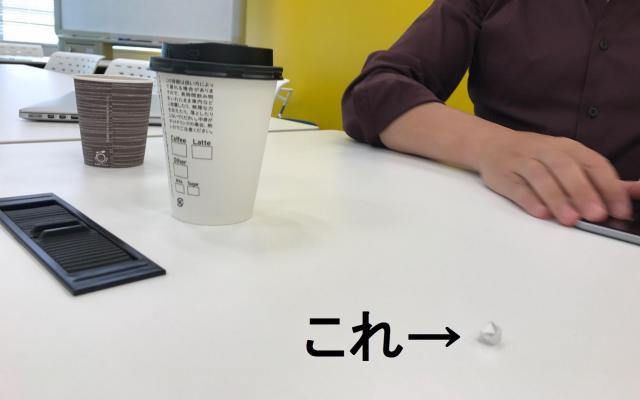 日本における「ソーシャル」の力って、紙コップ(会社・国)と比べると、これくらい
