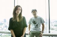 デビュー18周年を迎える「Do As Infinity」の伴都美子さん(左)と、大渡亮さん=小境勝巳撮影