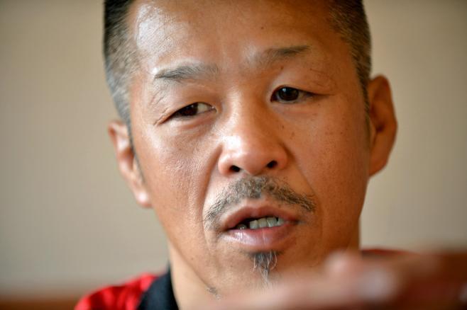 「父ちゃんが亡くなると同時に後ろ髪を伸ばしたんですよ」。現役へのこだわりを語る辰吉丈一郎選手