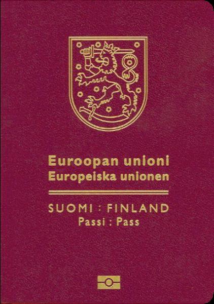 2017年パスポートランキング3位のフィンランド