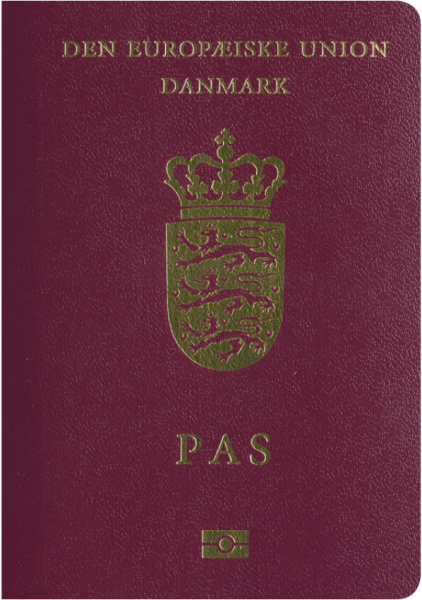 2017年パスポートランキング3位のデンマーク
