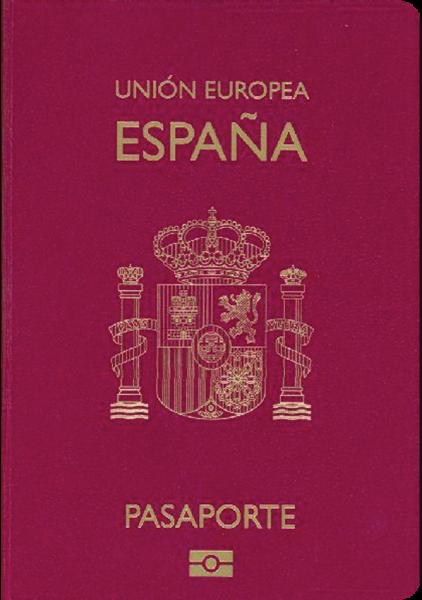 2017年パスポートランキング3位のスペイン