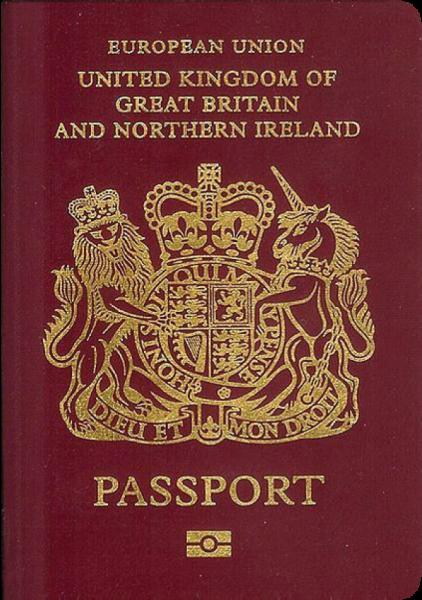 2017年パスポートランキング3位のイギリス