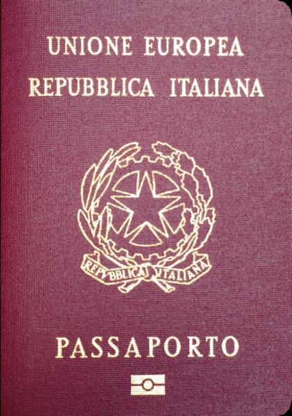 2017年パスポートランキング3位のイタリア