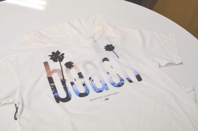 かわいいレディースのTシャツ、PIKOのマークは…