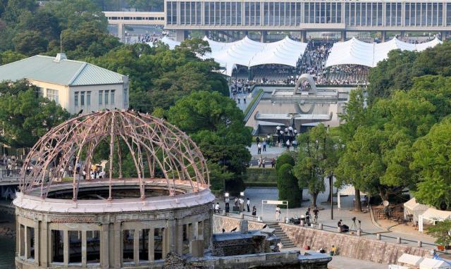 2015年8月15日の広島原爆忌