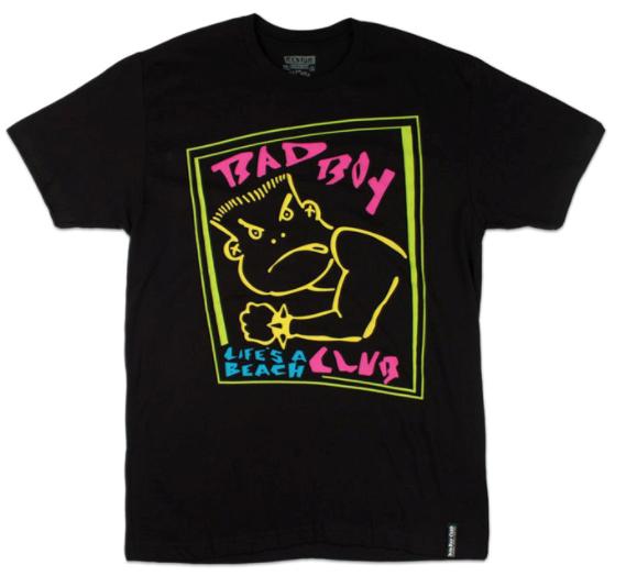 「BAD BOY Club」のオリジナルキャラクター。現在の「BAD BOY」のロゴの基になっている