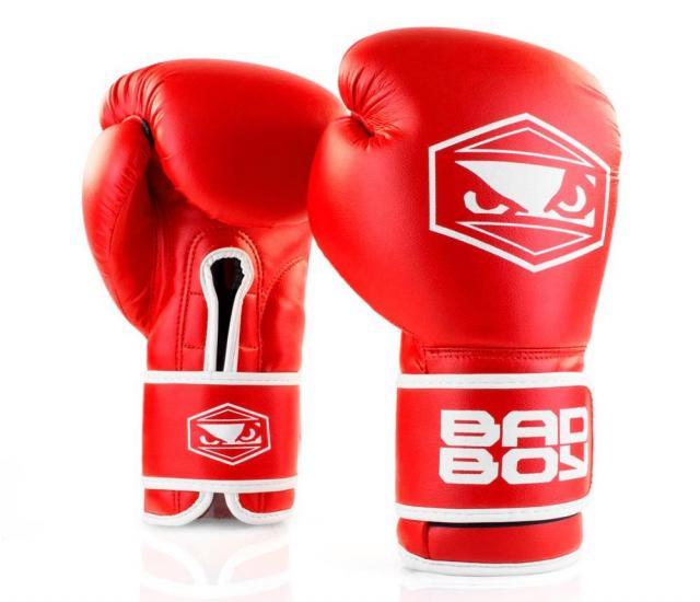 「BAD BOY」のボクシンググローブ
