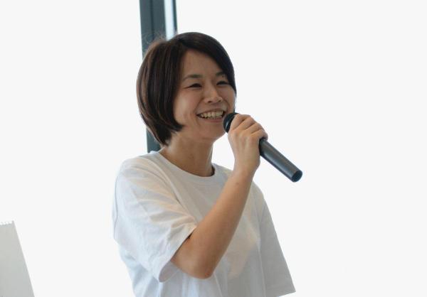 講演を務めた株式会社ALE代表取締役社長、岡島礼奈さん