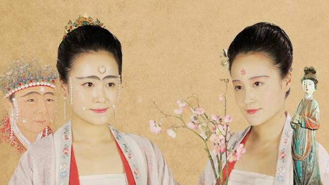 宋王朝(960年から1279年)の宮廷女子と普通女子のお化粧を再現