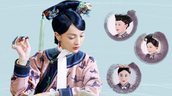 人気テレビドラマ(清王朝の時代劇)の主人公のお化粧を検証