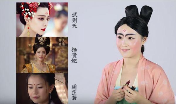 人気時代劇ドラマのお化粧を検証。