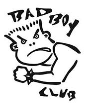 設立当初の「BAD BOY Club」のオリジナルキャラクター。現在の「BAD BOY」のロゴの基になっている