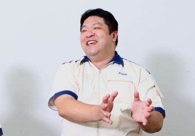 白鶴酒造の生産本部次長 水谷仁さん