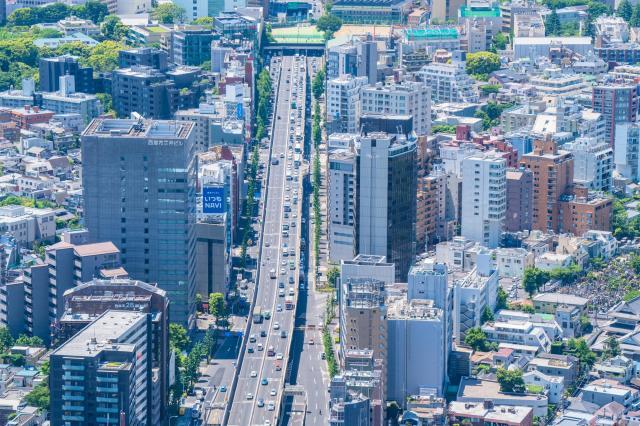 東京の交通状況※写真はイメージです