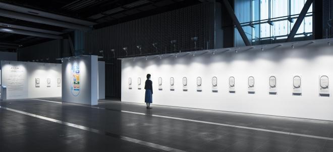 3階の常設展示「ノーベルQ ノーベル賞受賞者たちからの問い」