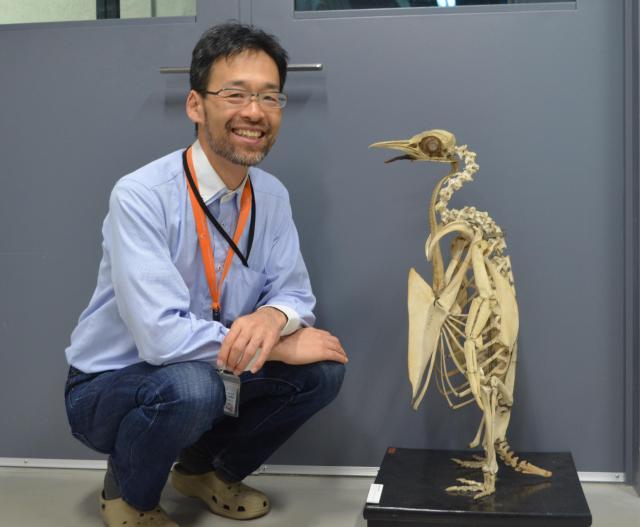 国立科学博物館の西海功先生