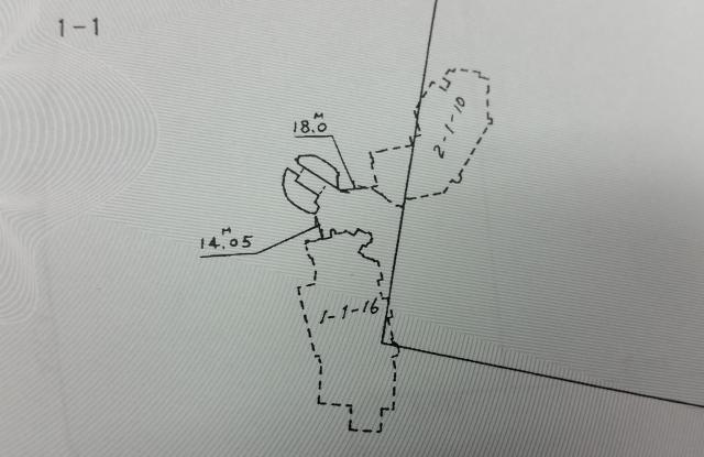 シンデレラ城の位置を示した図面