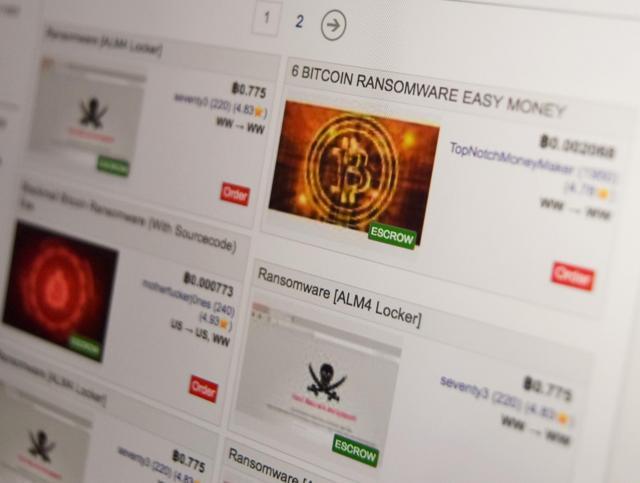 闇サイトではランサムウェアなどのサイバー攻撃ツールも売買されている
