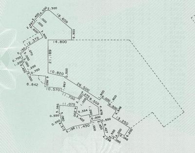 カリブの海賊2階の平面図