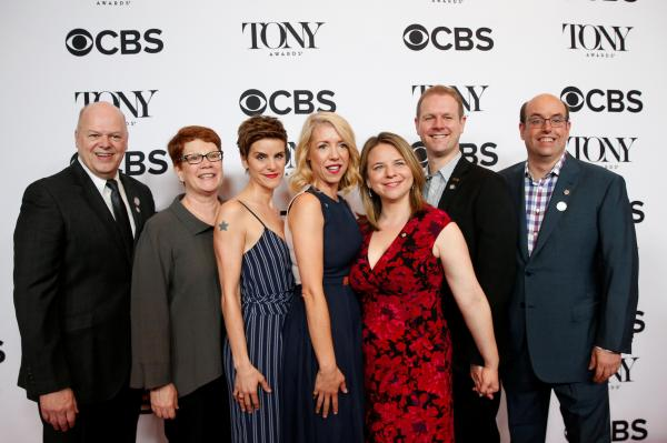 「Come From Away」の関係者たち=ロイター