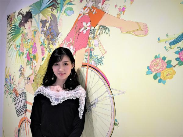 日本の美大に憧れて留学を決意した湖南省出身の李芸(リー・イー)さん