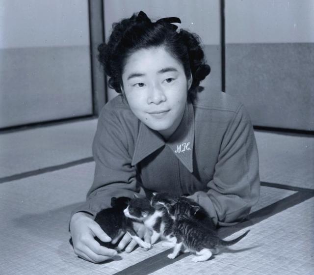サザエさんの作者、長谷川町子さん